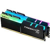 G.Skill F4-4133C19D-16GTZR Trident Z RGB - Módulo de Memoria 2 x 8 GB (16 GB), DDR4,  Negro