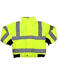 Yoko Childrens/Kids Unisex Hi-Vis Bomber Jacket