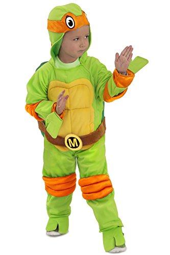 TMNT Teenage Mutant Ninja Turtles Michelangelo One-Piece Jumpsuit (12/18M)