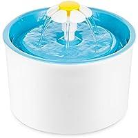 Trinkbrunnen LITTLE FLOWER weiss-blau 1,6 Liter