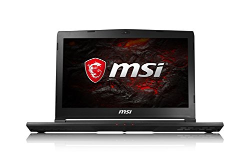 MSI GS43VR 7RE (Phantom Pro) 061UK 14 Inch Gaming Laptop (Black) - (Kabylake Core i7-7700HQ, 16 GB RAM, 256GB SSD,...