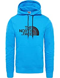The North Face Light Drew Peak Sudadera, Hombre, Bomber Blue/TNF Black,