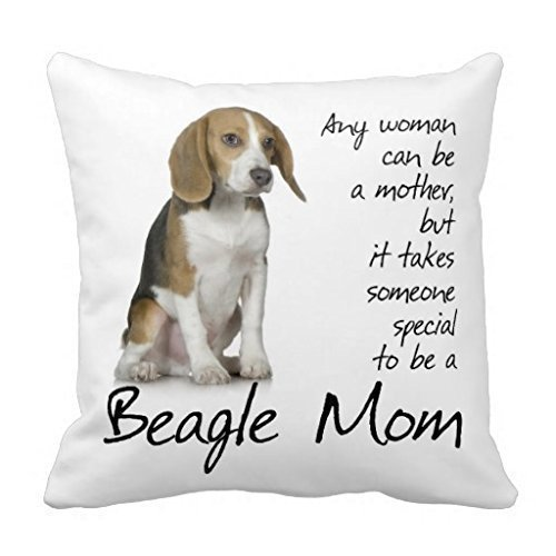 Pillow case Store Pillow case Beagle Mom Dog Cotton 1818 Inch