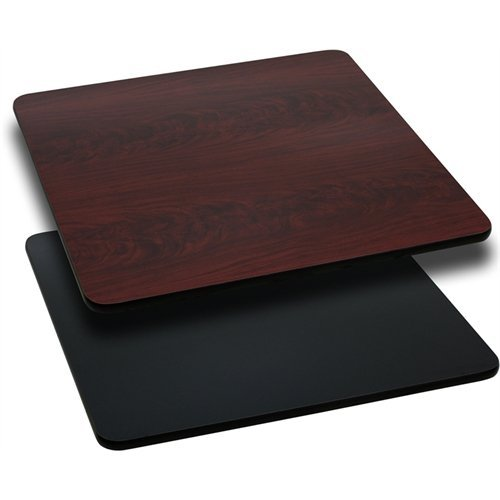 rectangular-table-top-with-black-or-mahogany-reversible-laminate-top-top-only-30-x-30-by-flash-furni