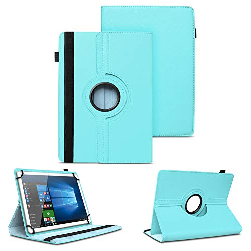 NAUC Universal Tasche Schutz Hülle Tablet Schutzhülle Tab Case Cover Bag Etui 10 Zoll, Farben:Hellblau, Tablet Modell für:Blaupunkt Enterprise 1020CH