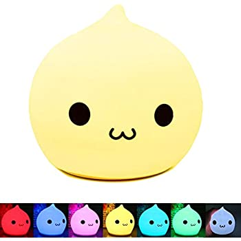 Led Night Lights Lights & Lighting 2019 Fashion Emoji Cute Unique Home Decoration 3d Poor Expression Led Touch Night Light 7 Color Changing Remote Control New Year Gift Present