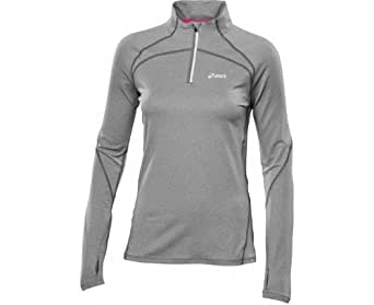 ASICS WINTER Women's Half-Zip Long Sleeve Running Top - X Large