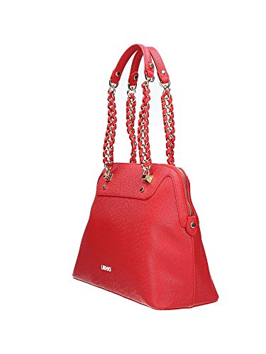 LIU JO ANNA SHOPPING BAG A66001E0087 81550 Aurora red