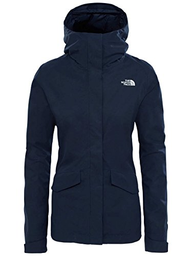 North FACE W All Terrain Zip-IN Jacket - Damen Jacke - Blau (URBAN Navy) - Tex North Gore The Face Jacke