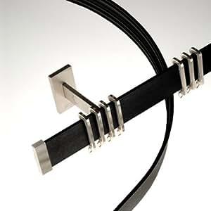 Swish - Système de rail de rideaux en aluminium Modal - noir anodisé - 300 cm