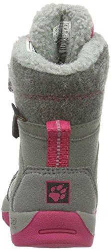 Jack Wolfskin Providence Texapore High Vc G, Chaussures de Randonnée Hautes Fille Rose (Azalea Red 2081)
