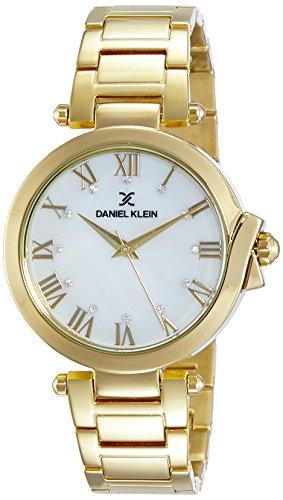 Daniel Klein Analog Gold Dial Women's Watch-DK10949-1 image