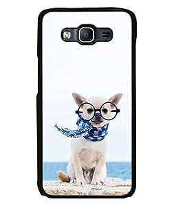PrintVisa Designer Back Case Cover for Samsung Galaxy On 7 Pro (amazing look puppy mufler specs)