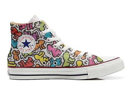 Converse Customized Adulte - chaussures coutume (produit artisanal) la vie stilizzato