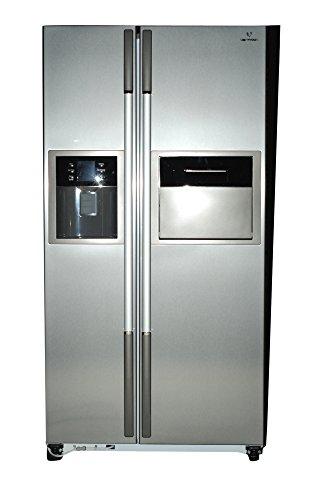 Videocon 604 L In Frost-Free Double Door Refrigerator (VPL60ZPS-FSC, Platinum Silver)