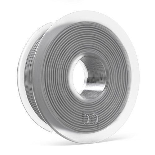 BQ F000121 PLA Spule, 1,75 mm, 300 g, Aschgrau
