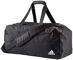 ADIDAS - Sac Pointer Teambag M - Noir/Blan, 40