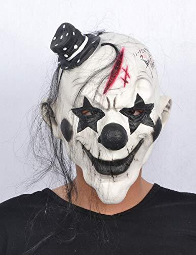 Generique - Böser Clown Halloween Maske für Erwachsene