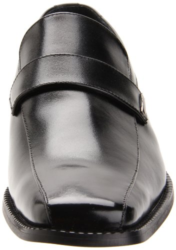 Stacy Adams Darby Hommes Cuir Mocassin Black