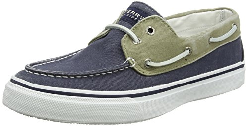 Sperry Top-Sider  Bahama 2-eye, Herren Bootsschuhe, Navy/Khaki Sperry Topsider Bahama