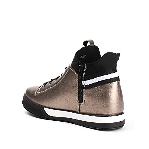 Ideal Shoes, Damen Sneaker Bronze