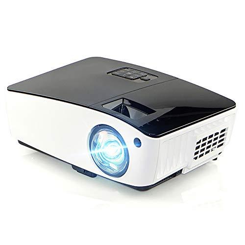 Ai LIFE WiFi-Projektor 4000 Lumen kabelloser Mini-Projektor 1080P-Unterstützung 300-Zoll-Display Kompatibel mit Smartphone, Tablet, TV-Stick, DVD-Player, PS3 / PS4-Game-Player, HDMI, VGA