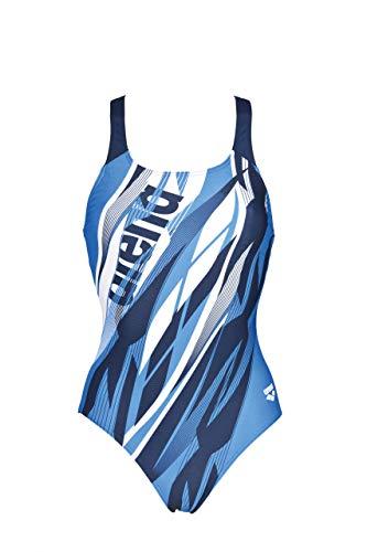 arena W Swim Pro One Piece L Sport Badeanzug Damen Zephiro M Blau (navy-pix blue)