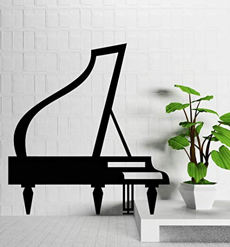 zzlfn3lv Wandtattoos Vinyl Aufkleber Klavierkonzert Piano Music Room Art Decor 1 57x61cm