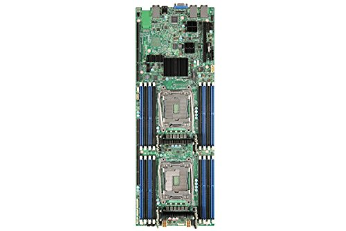 Intel BBS2600TPR Server Board Supporting Two Intel Xeon Prozessor E5-2600v3 16 DIMMs and 2x1Gb Ethernet on Board (Motherboard Intel Board Server)