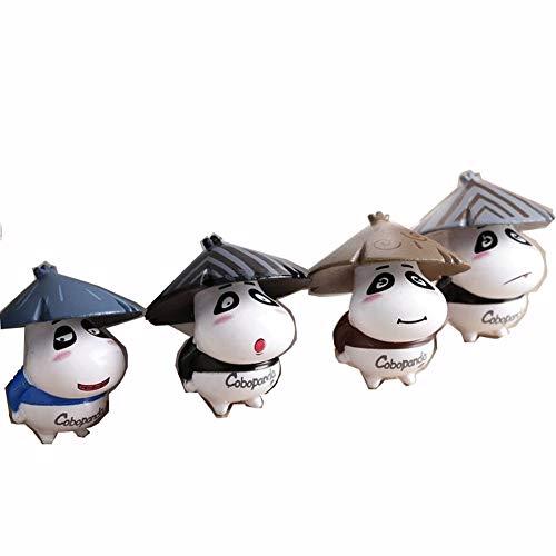 Seatour Miniatur-Gartendekoration, Panda, Kunstharz, zufällige Farbauswahl (Verkauf Für Grabsteine)