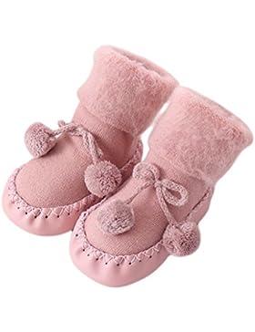 Babysocken, Auxma Baby Jungen Mädchen Socken Baumwolle Kinder Boden Socken Infant Rutschfeste Socken Schuhe Stiefel...