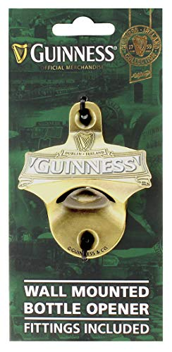 Wand montiert Flaschenöffner (Beschläge enthalten)-Guinness Irland Collection -