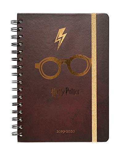 Erik - Agenda scolaire semainier Harry Potter 2019/2020-12 mois - A5