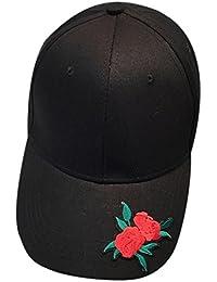 Gorra de beisbol ❤️Koly Gorra de béisbol ajustable de algodón de estilo  vintage unisex para ee9487aeac3