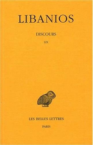 Discours. Tome IV : Discours LIX