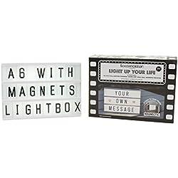 Mini Lightbox A6(90Zeichen) inkl. Magnet
