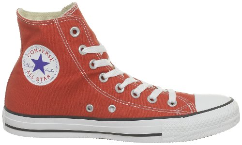 Converse Damen All Star Hi Gymnastikschuhe rosso (Rot (Bordeaux Rouge))