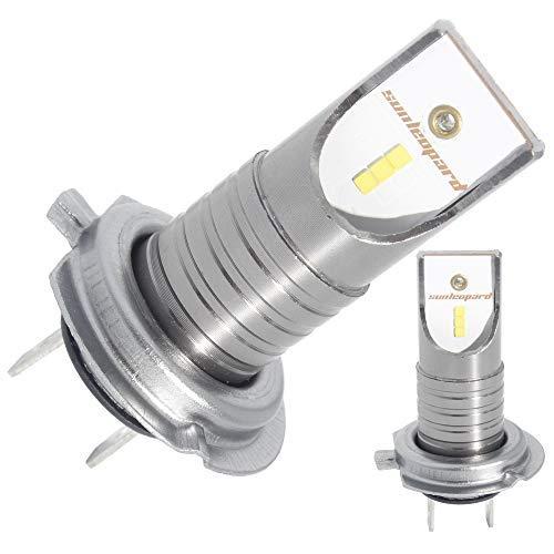 Led H7 lampadine auto 55W 12000LM 6500K super luminosità tutto in uno Conversione kit lampade luci CSP chips