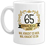 Tassendruck Geburtstags-Tasse Knackige 65