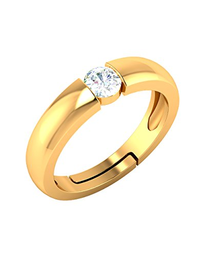 cbfd576e685dc Buy Voylla Precious Gold Silver Ring For Men Online at Low Prices in India