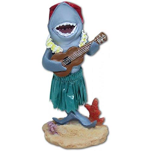 Preisvergleich Produktbild Hawaii miniature Dashboard Hula Doll - Hai mit Ukulele