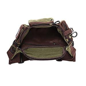 41nBRvAqEVL. SS300  - Eshow Bolsos de Cintura Riñoneras de Tela para Hombres y Mujeres