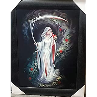 ANNE STOKES Official Gothic Collection Life Blood Framed Lenticular 3D Art Poster Picture New size 47 x 37 cm