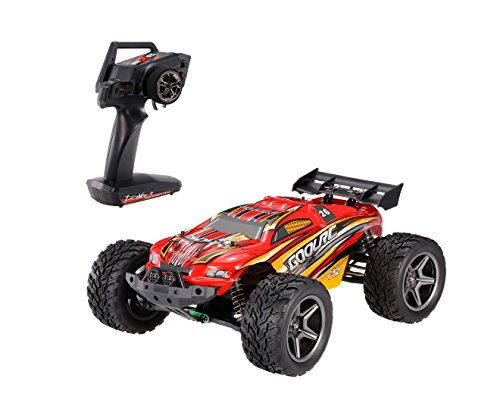 GoolRC C12 Electric RC Auto fuoristrada Cars 2.4GHz Radio Remote Control Truck Monster 1:12 Scala 2WD 35km / h High Speed - Miglior regalo di Natale per bambini e adult