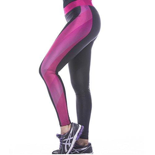 Belsen - Legging - Femme multicolore Muscle lines M tigre