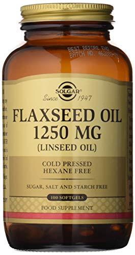 Solgar Flaxseed Oil 1250 mg 100 Softgels