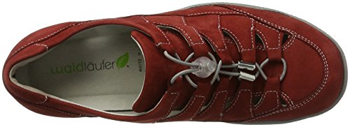 Waldläufer Honora, Derbies à lacets femme Rot (Cherry)