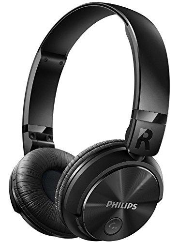 Philips SHB3060BK Bluetooth Headphones (Black)