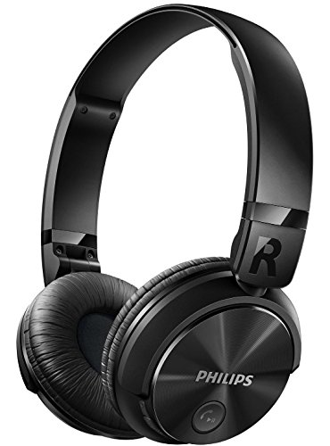 Philips SHB3060BK Bluetooth Headphones (Black)