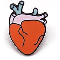 1pc Brooch Pin Cartoon Creative Órganos Humanos Corsage Bufandas Shawl Clip Accesorios de Ropa Bobury